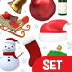 Christmas 3D Objects Set - GraphicRiver Item for Sale