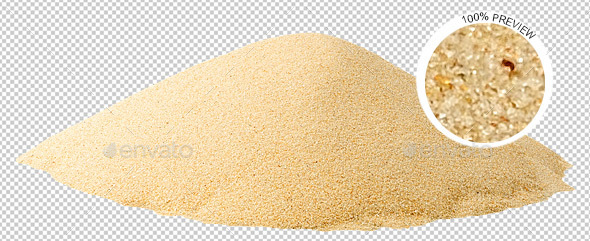 Pile of Sand - Nature & Animals Isolated Objects