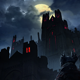 Dark Castle Illustration - GraphicRiver Item for Sale