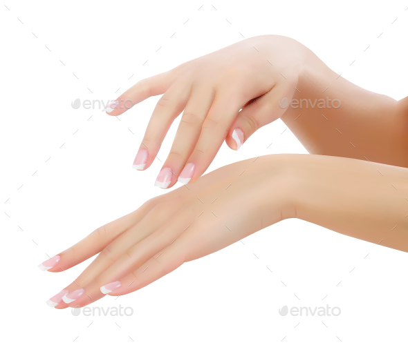 Female Hands - Health/Medicine Conceptual