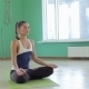 Woman Practicing Yoga Meditation - VideoHive Item for Sale