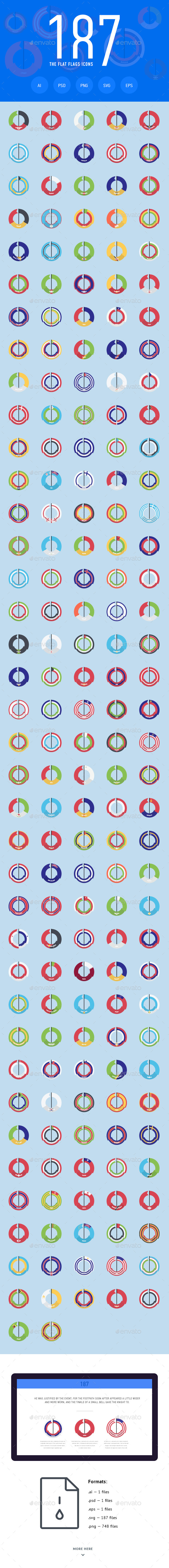The Flat Flags Icons 187 - Web Icons