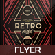 Retro Night V24 Flyer - GraphicRiver Item for Sale