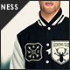 Mens Varsity Jacket Mock Up - GraphicRiver Item for Sale