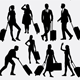 People Behavior Silhouettes - GraphicRiver Item for Sale