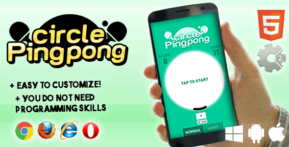 Circle Ping Pong - CodeCanyon Item for Sale