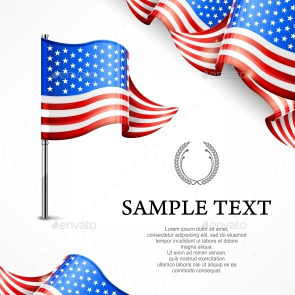 American Flag  - Miscellaneous Vectors