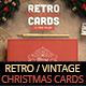 Retro / Vintage Christmas Card Pack - GraphicRiver Item for Sale