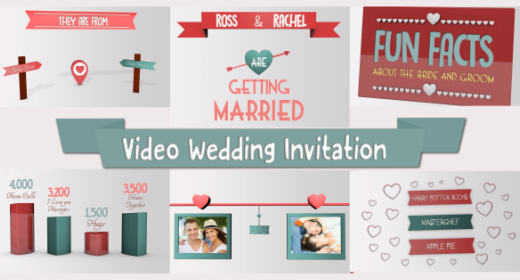 Wedding Video Invite