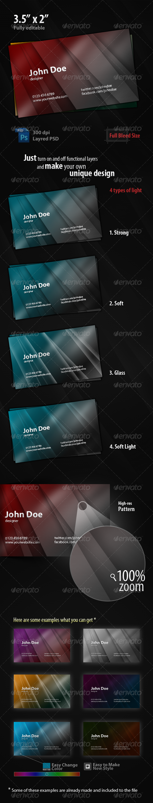 Futuristic Business Card - Creative Business Cards