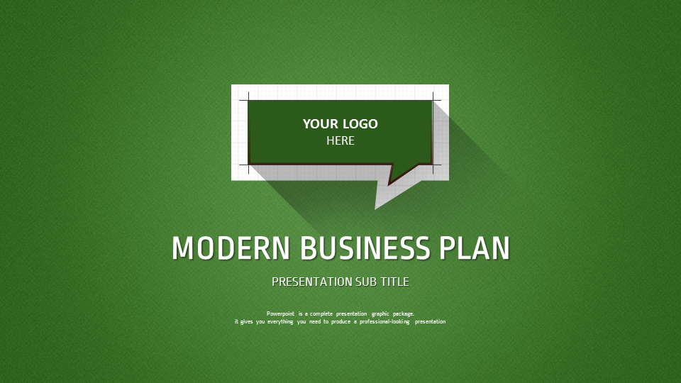 Modern business plan by pello1103 graphicriver for Spec home business plan
