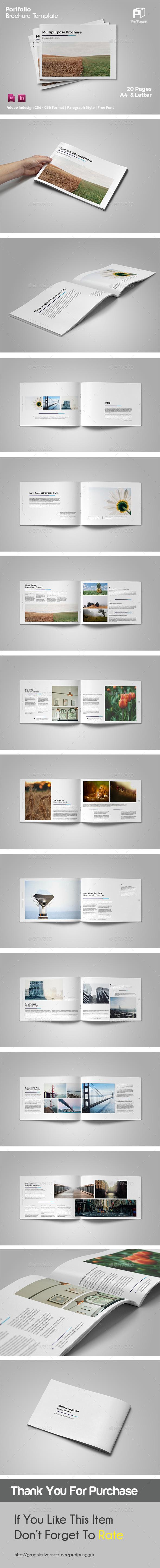 Clean Multipurpose Brochure Vol.2 - Portfolio Brochures