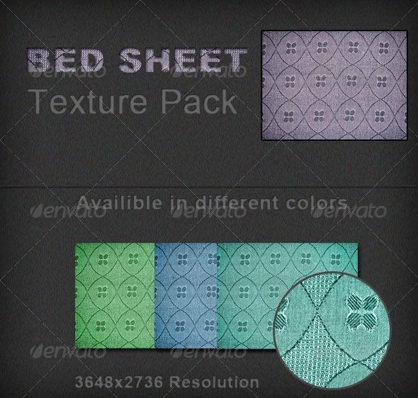 Bed Sheet Cloth Texture Pack - Fabric Textures