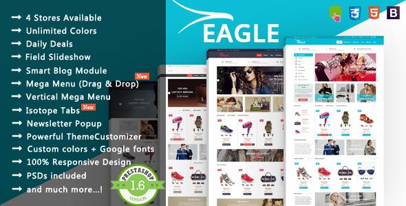 Eagle- Responsive Prestashop Theme