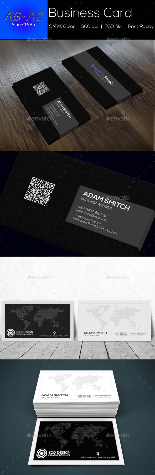 Simple Bundle Business Card - Corporate Business Cards