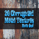 20 Corrugated Metal Textures - Pack One  - GraphicRiver Item for Sale