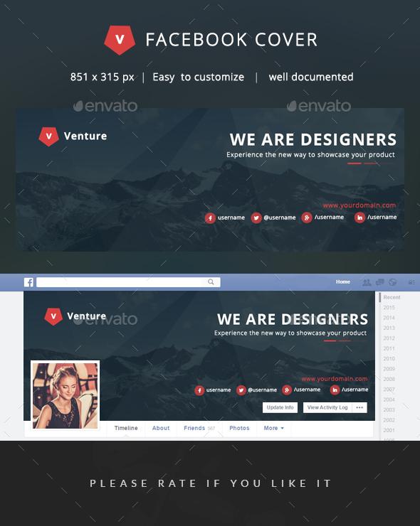 Facebook Cover - Venture - Facebook Timeline Covers Social Media