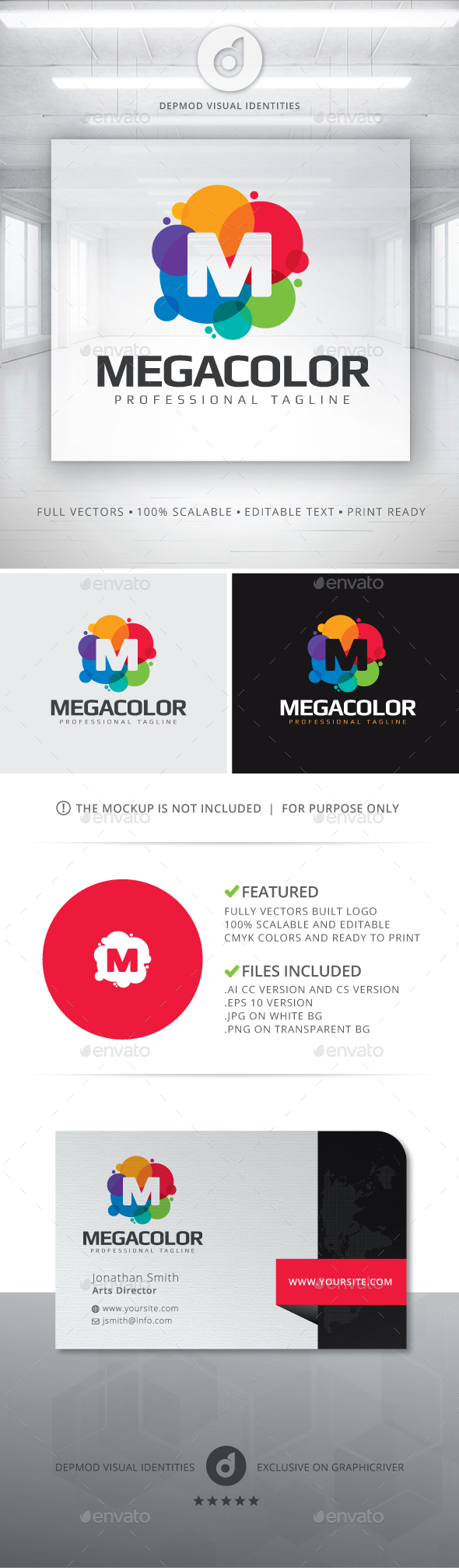 MegaColor Logo