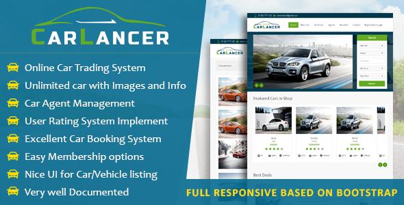 CarLancer Online Car Trading System