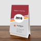 2016 Calender (Desk Calender) - GraphicRiver Item for Sale