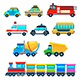 Funny Vehicles - GraphicRiver Item for Sale