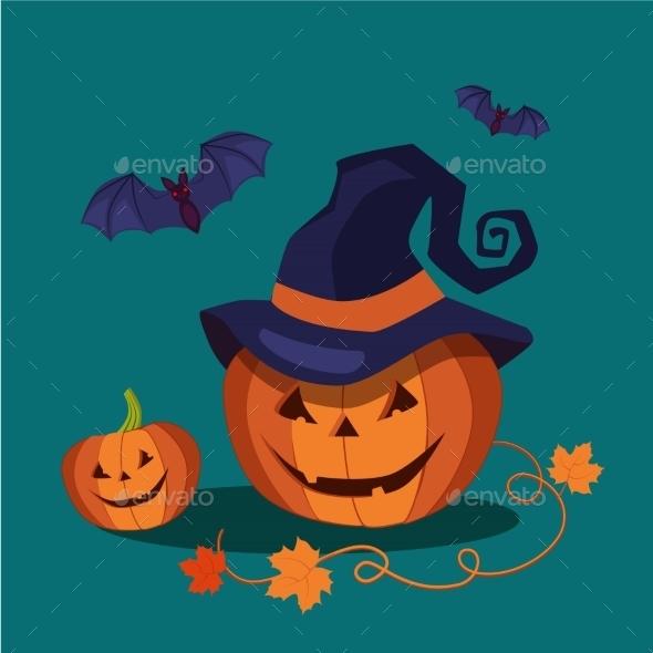 Carved Halloween Pumpkin - Miscellaneous Vectors