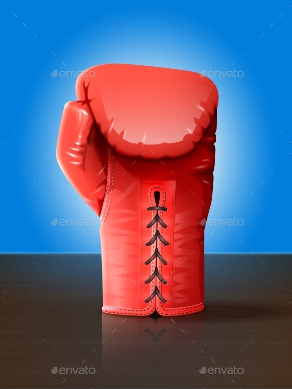 Boxing Glove Illustration