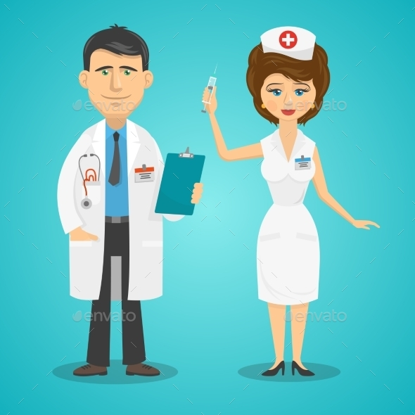 Doctor and Nurse - Health/Medicine Conceptual