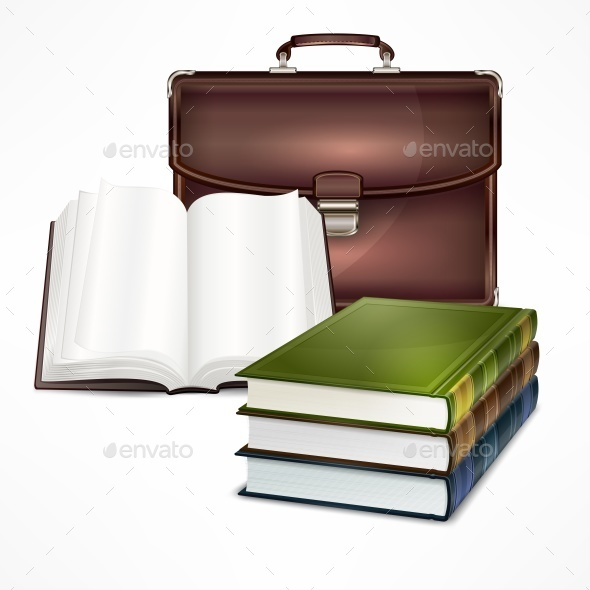 Bag and Book - Concepts Business