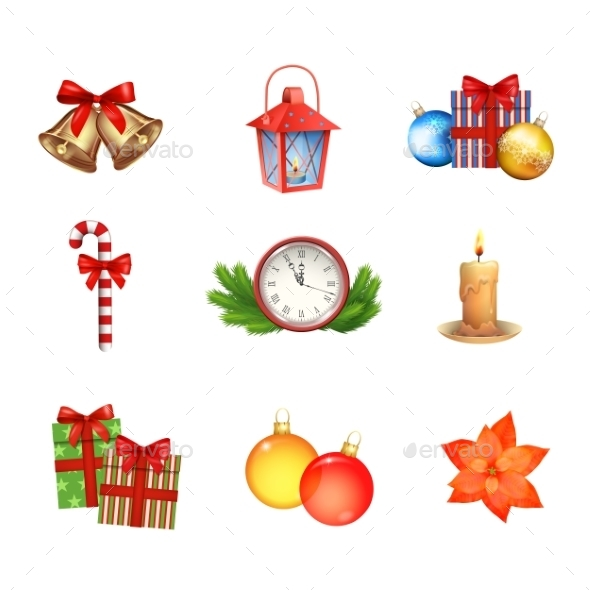 Christmas Icons Collection - Christmas Seasons/Holidays