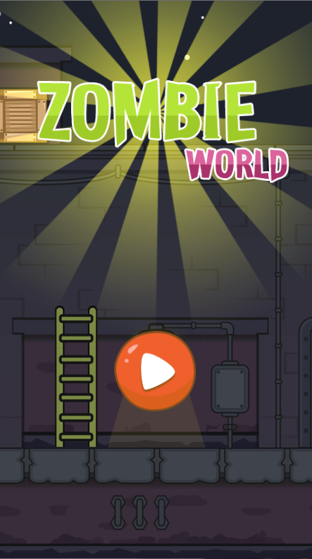 Zombie Word-Html5 mobile game
