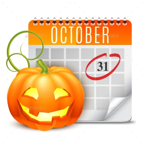 Halloween Calendar - Halloween Seasons/Holidays