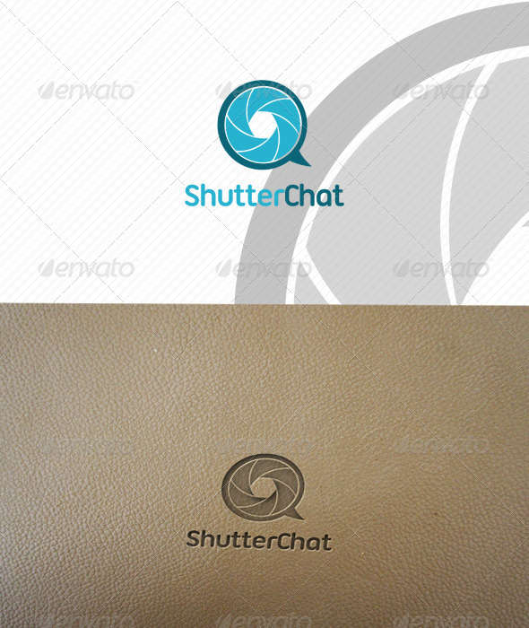 ShutterChat Logo Template  - Abstract Logo Templates