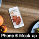 2 Realistic Phone 6 Mock-up - GraphicRiver Item for Sale
