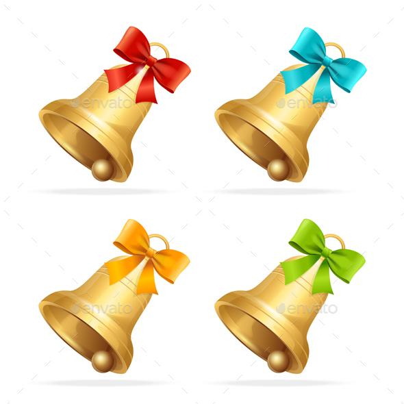 Christmass Bell Set - Christmas Seasons/Holidays