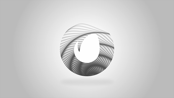 Elegant Wave Motion Logo