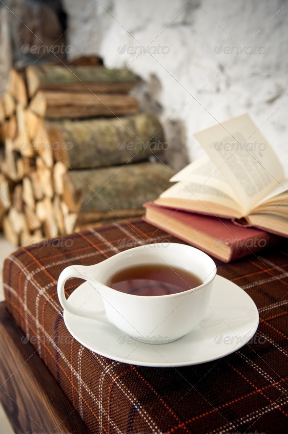 Warm tea - Stock Photo - Images