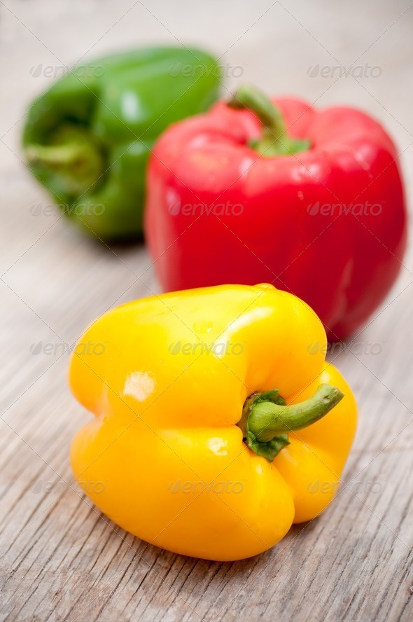 Bell peppers - Stock Photo - Images