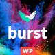 Burst - A Bold and Vibrant WordPress Theme Nulled