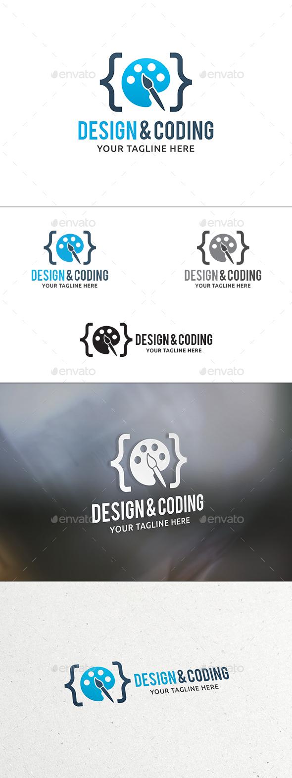 Design & Coding Logo - Symbols Logo Templates