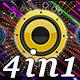 Colorful Speaker - Vj Loops 4-Pack - VideoHive Item for Sale