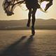 Girl Walking In The Desert 04 - VideoHive Item for Sale