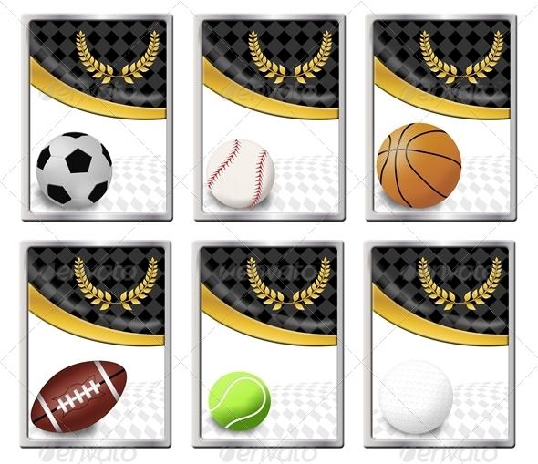 Set of sports balls - Sports/Activity Conceptual
