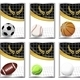 Set of sports balls - GraphicRiver Item for Sale