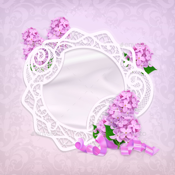 Lilac Romantic Background