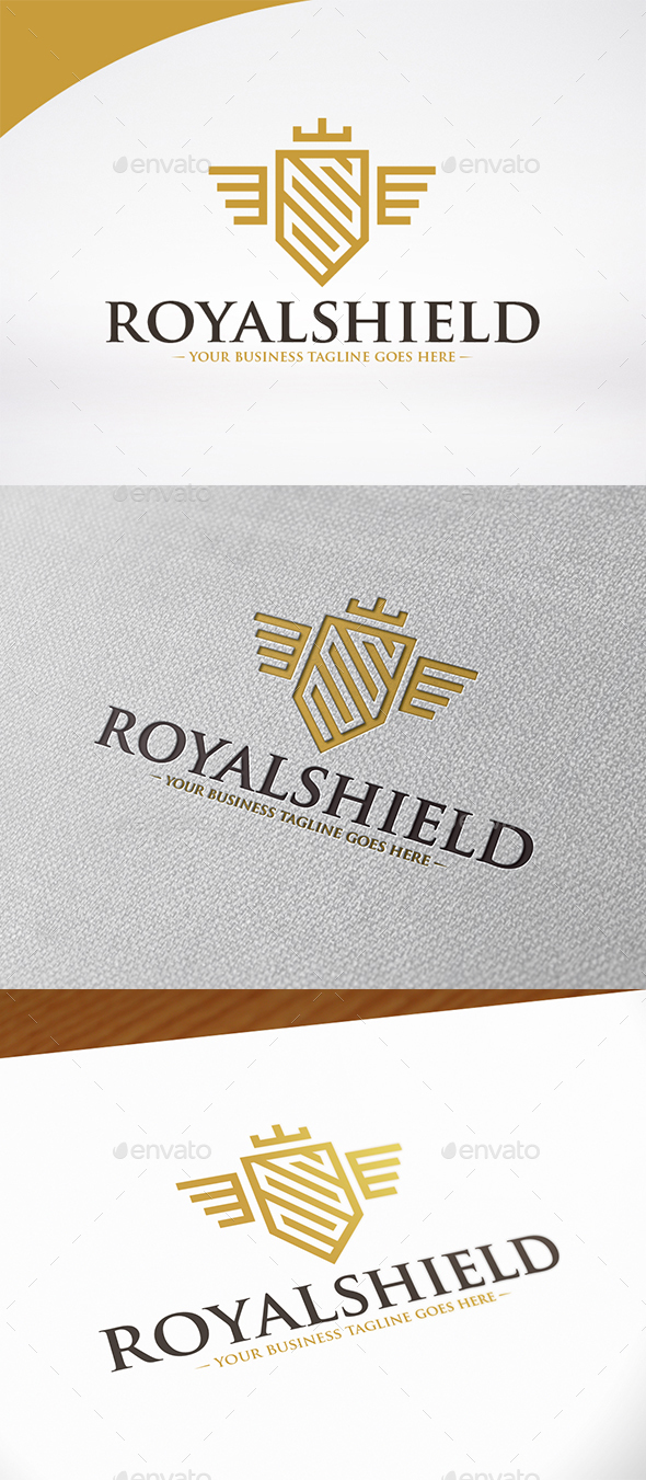 Royal Shield Logo Template - Crests Logo Templates