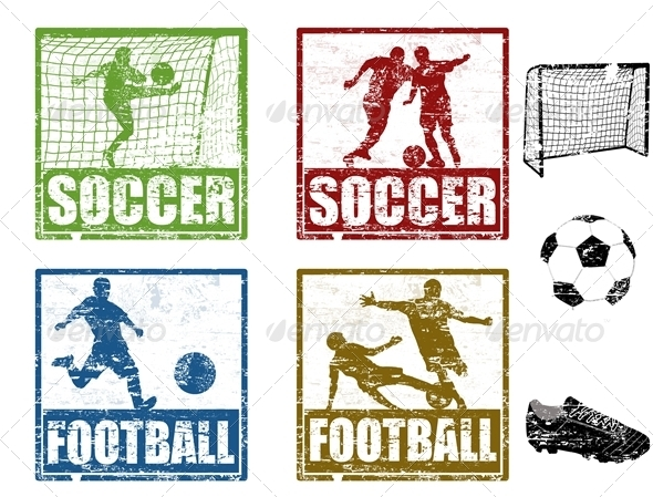 Soccer stamps - Sports/Activity Conceptual