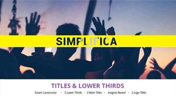 Simplifica Titles & Lower Thirds