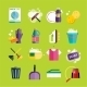 Cleaning Icons Vector Set Clean Service - GraphicRiver Item for Sale
