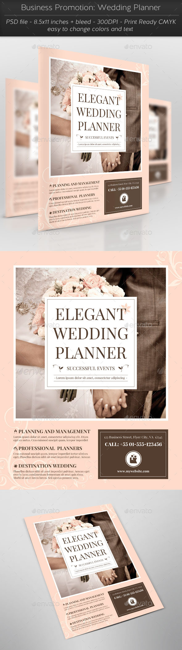 Business Promotion: Wedding Planner - Corporate Flyers